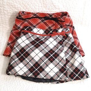 Old Navy Plaid Skirts 6-12M & 12-18M 6/$15
